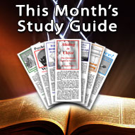 World Outreach Ministries Monthly Study Guides - Not I But Christ