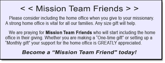 Mission Team Friends