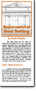 Supernatural Goal Setting