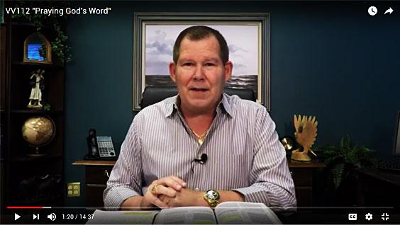 VV112 Praying God's Word YouTube Video